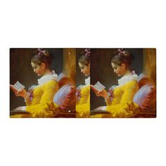 The Reader by Jean-Honore Fragonard 3 Ring Binder | Zazzle.com Jean Honore Fragonard, Binder Inserts, 3 Ring Binders, Binder Design, Girl Reading, Custom Binders, Photo Quality, Unique Weddings, Oil On Canvas