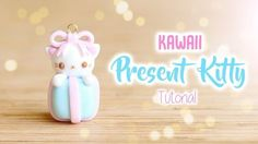 Kawaii Christmas Present Kitty│Polymer Clay Tutorial