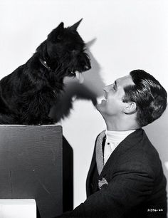 Cary Grant & friend!