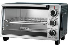 New BLACK+DECKER Convection Countertop Toaster Oven, Includes Bake Pan, Broil Rack & Toasting Rack, Stainless Steel/Black Convection Toaster Oven online - Toplikeclothes Bacon Toaster, Toaster Ovens, Best Convection Microwave, Gas Oven, Specialty Appliances, Baking Pans, Countertops, Stainless Steel