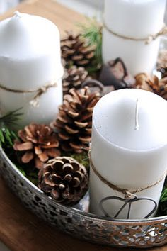 advent wreath... we need one of these for next year More