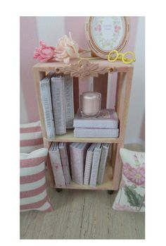 1/12 DECORATIVE SHELF & BOOKS ♡ ♡