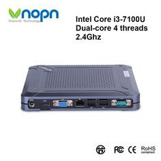 Find More Mini PC Information about Mini Desktops Intel Core i3 7100U Dual core 2.4Ghz Windows OS Home Gaming Office Work Mini PC DDR3L 8G SSD 256G Computer,High Quality Mini PC from Vnopn Official Store on Aliexpress.com