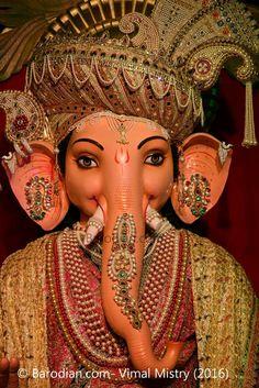 Jai Ganesh - Lord Ganesh !! Enjoy Festivals with www.barodian.com #baroda #vadodara #barodian #ganeshutsav #festival #ganeshutsav2016 Jai Ganesh, Ganesh Lord, Ganesh Idol, Shree Ganesh, Ganesh Images, Ganesha Pictures, Ganesh Photo, Ganesh Chaturthi Images, Ganesh Utsav