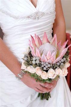 Bridal Bouquets - Proteas
