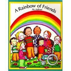 A Rainbow of Friend by P.K. Hallinan