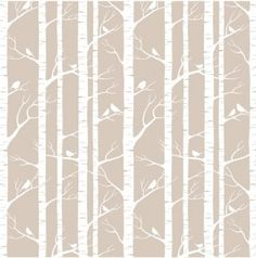 Birch removable wallpaper from the wall sticker company