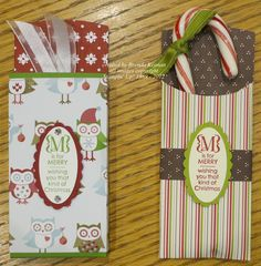 Keenan Kreations, really like how Brenda made these...so cute..used the sizzix petite pocket die from stampin up, nicely done..