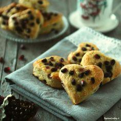 Scones alla melagrana  http://blog.giallozafferano.it/passionecooking/scones-dolci-alla-melagrana/