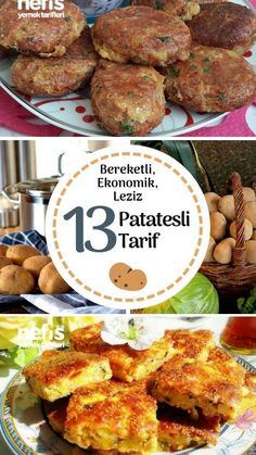 Patates Yemekleri – Her Biri Favoriniz Olacak 13 Değişik Tarif – Nefis Yemek Tarifleri – Pratik yemekler – Las recetas más prácticas y fáciles Diet Schedule, B Food, Learn Turkish, Protein Diets, Turkish Recipes, Homemade Beauty Products, Diet Plans To Lose Weight, Diet And Nutrition, Health Fitness