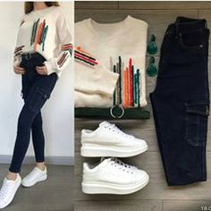 Look Book Fashion. You need to know what suits you best when it comes to clothing so do the appropriate research to find out. Casual Outfits For Teens, Classy Outfits, Stylish Outfits, Latest Outfits, Korean Outfits, Girls Fashion Clothes, Fashion Dresses, Terno Casual, Mode Ootd
