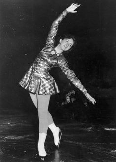 Team GB figure skater, Jeanette Altwegg after winning a gold medal in the Women's Figure Skating Competition in the Winter Olympics at Oslo