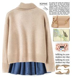 """""""Romwe 10"""" by scarlett-morwenna ❤ liked on Polyvore featuring Moleskine, Sophie Hulme, BOBBY and vintage"""