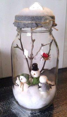 50 Amazing Mason Jar Christmas Crafts – I love Pink