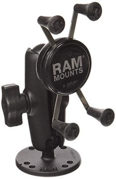 RAM Mounts Flat Surface Mount with Universal X-Grip Cell/Iphone Holder Iphone Holder, Fish Camp, Gps Navigation, Mounting Brackets, Vehicle, Fishing, Surface, Camping, Flat