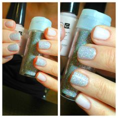 CND Shellac | Nail Art | Glitter