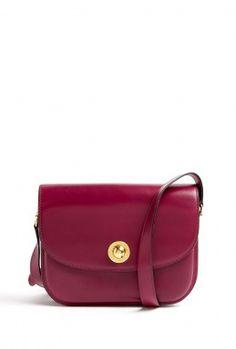 Vintage Céline Burgundy Handbag By