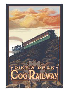 Pikes Peak, Colorado, Pikes Peak Cog Railroad  #PinPikesPeak