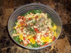 Raw Vegan Thai Salad