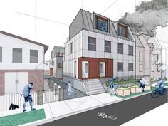 10 Missing Middle Housing Ideas House Styles Row House Townhouse Designs