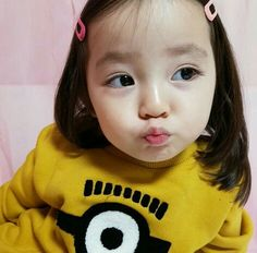 Pict from ig Cute Asian Babies, Korean Babies, Cute Korean Girl, Asian Kids, Cute Babies, Little Boy And Girl, Cute Baby Girl, Little Babies, Baby Kids