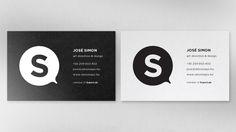 Simon Says - Corporate Identity, 2012 by José Simon, via Behance
