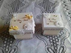 Ślubne boxy zrobione na zamówienie kuzynki :)