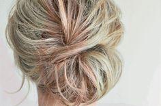 Opsteken half lang haar