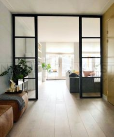 Interior Styling, Interior Design, Living Room Interior, Glass Door, My Dream Home, New Homes, Indoor, House, Furniture
