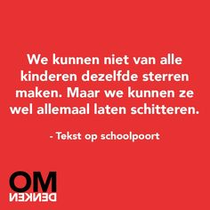 Motivation Quotes : QUOTATION – Image : Quotes Of the day – Description Omdenken. Daily Quotes, Best Quotes, Love Quotes, Mantra, Teachers Be Like, Words Quotes, Sayings, Motivational Quotes, Inspirational Quotes