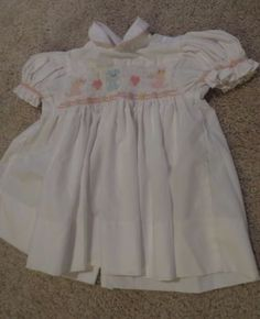 House-of-Hatten-Embroidered-Smocked-Pink-White-Infant-Dress