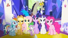 #1316290 - alicorn, applejack, discord, fluttershy, hasbro studios, let the rainbow remind you, mane seven, mane six, pinkie pie, pony, rainbow dash, rarity, safe, screencap, spike, twilight's kingdom, twilight sparkle, twilight sparkle (alicorn) - Derpibooru - My Little Pony: Friendship is Magic Imageboard