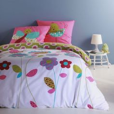 1000 images about linge de lit fille girl bed linen on. Black Bedroom Furniture Sets. Home Design Ideas