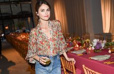 The actress showed support for Sylvana Ward Durrett and Luisana Mendoza Roccia's Maisonette.com at the launch party Thursday night.