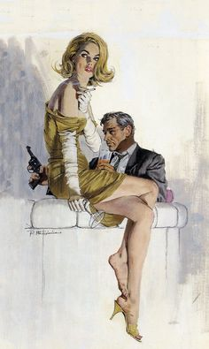 The Iconic Illustrations of Robert McGinnis