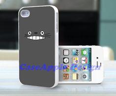 Totoro - Apple iPhone 4 Case iPhone 4S Case iPhone Hard Case iPhone 4 Case Cover. $12.99, via Etsy.