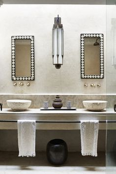 Marrakech riad bathroom