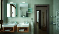 bathroom 3ds max, vray
