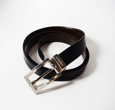 Authentic Longchamp Men's Leather Belt Reversible – HipBos