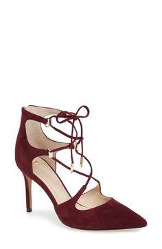 Marc Fisher LTD 'Toni' Lace-Up Pointy Toe Pump ...