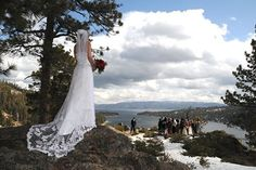If you're planning a wedding, there are few locations that rival Lake Tahoe. The natural beauty, days of sunshine annually, and the ease of transportation (including nearby major airports) are tough to beat. Perfect Wedding, Our Wedding, Wedding Stuff, Emerald Bay Lake Tahoe, Wedding Vendors, Wedding Sites, Something Blue Bridal, Lake Tahoe Weddings, Places To Get Married