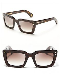 Marc Jacobs Square Oversized Sunglasses | Bloomingdale's