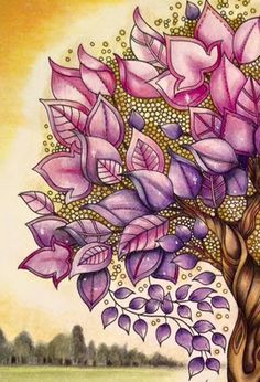 Johanna Basford | Ness Butler Inspirational Coloring Pages