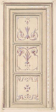 Jules-Edmond-Charles Lachaise | Design for a ceiling | The Met
