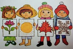 Image from A Book of Seasons, by Alice and Martin Provensen. Copyright 1976 - Random House.