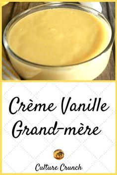 Creme Dessert Vanille, Mousse Dessert, Thermomix Desserts, Dessert Recipes, Crepes, Cheesecake Desserts, Tasty Bites, Nutella, Sweet Treats