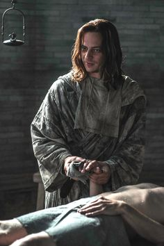 Tom Wlaschiha as Jaqen H'ghar who was a strange friend to Arya in Game of Thrones
