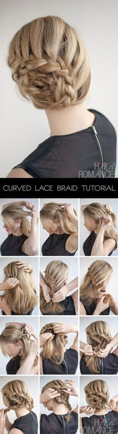 Curved Lace Braid Tutorial! #Fashion #Beauty #Trusper #Tip