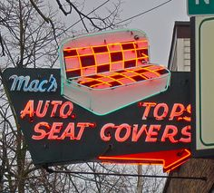Mac's Upholstery, Seattle by Curtis Cronn, via Flickr