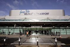 Passenger numbers fall at both Belfast City and City of Derry Airports - the Irish News Irish News, Belfast City, Blackpool, Isle Of Man, Gloucester, City Airport, Entrance, Retail, Airports